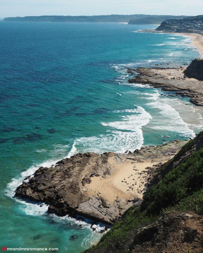 Mr & Mrs Romance - IG Edition - 54 Newcastle cliffs