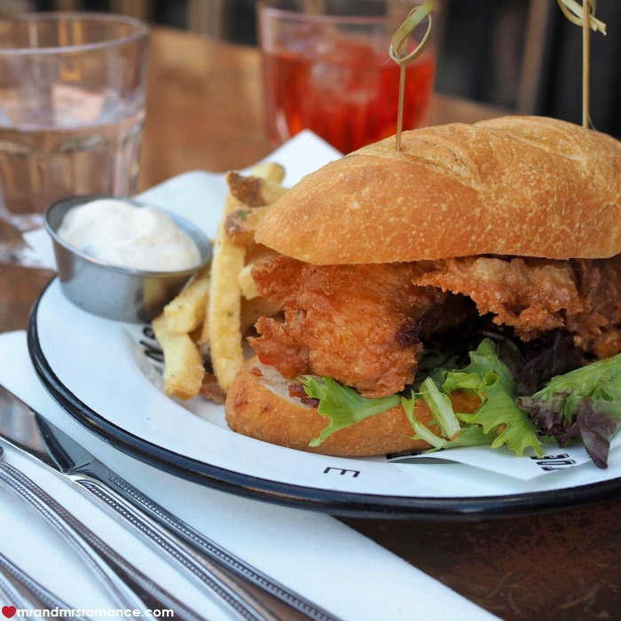 Mr & Mrs Romance - IG Edition - 54 fried oyster poboy