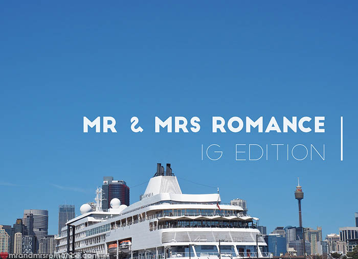 Mr and Mrs Romance - IG Edition - 1 title