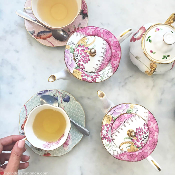 Mr and Mrs Romance - IG Edition - 22 catch-up with Sammie Palace Tea Rooms QVB