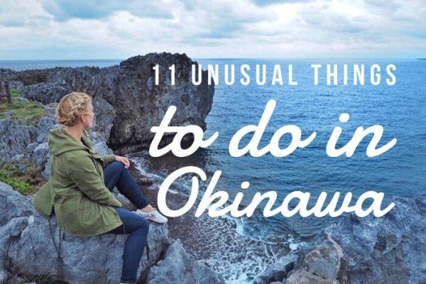 Mr & Mrs Romance - unusual things Okinawa