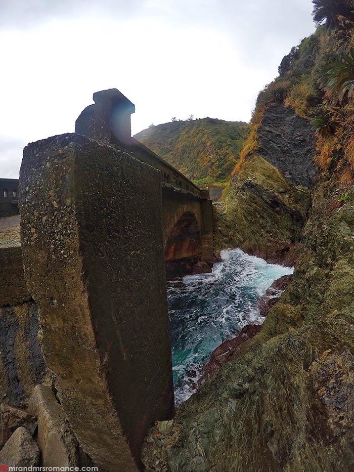 Mr & Mrs Romance - unusual things Okinawa - 4 broken bridge