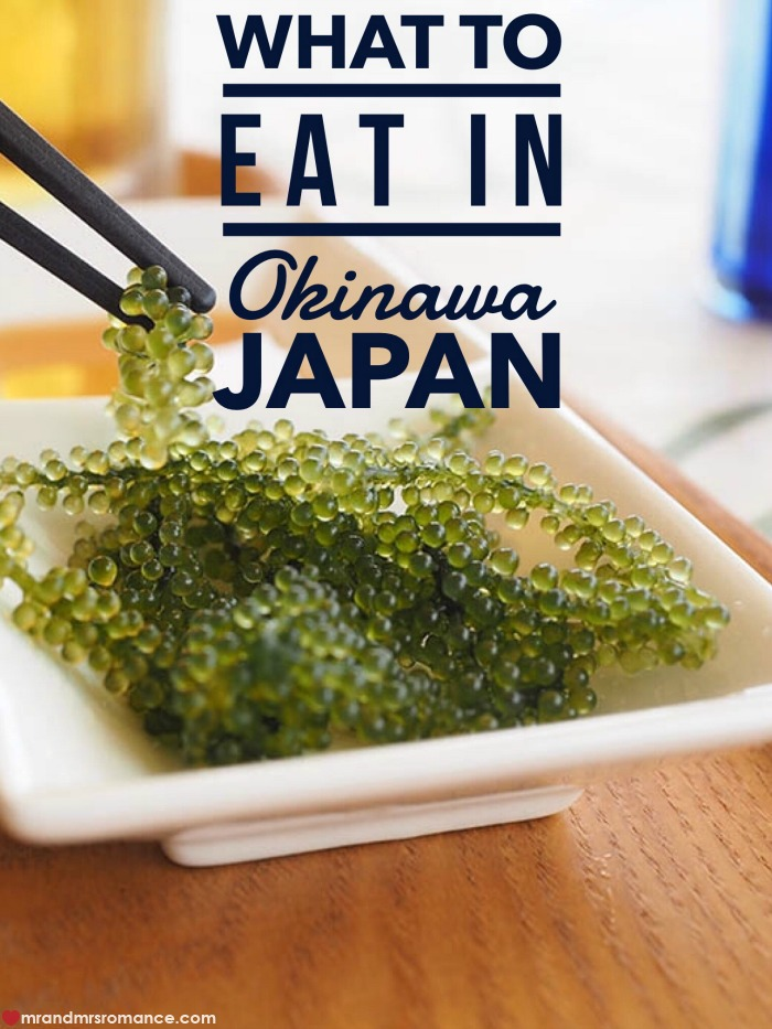 Mr and Mrs Romance - what to eat in Okinawa