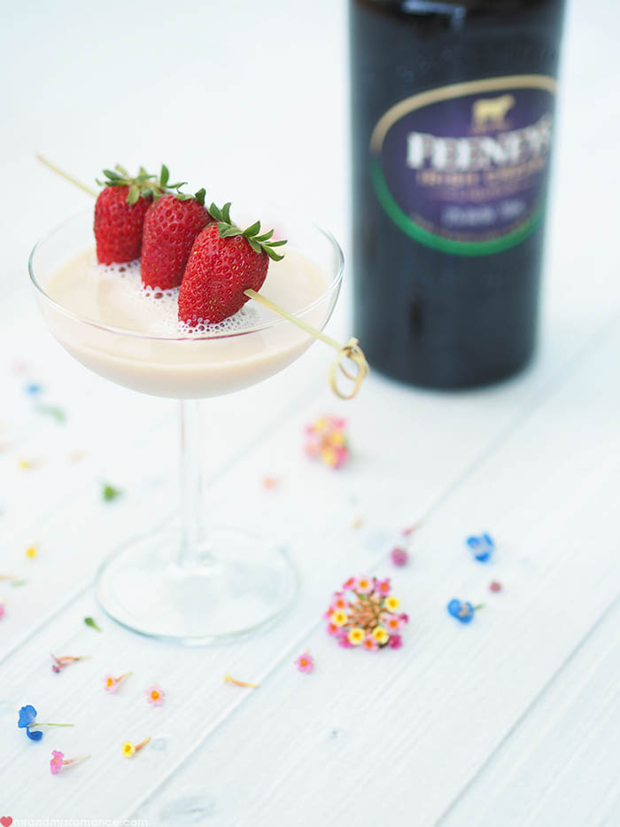 Mr and Mrs Romance - Feeney's Irish Cream Mother's Day Cocktail 2