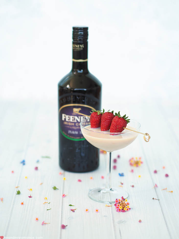 Mr and Mrs Romance - Feeney's Irish Cream Mother's Day Cocktail 7