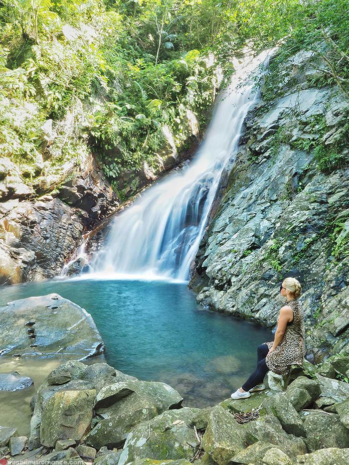 Mr and Mrs Romance - Postcards from Okinawa Japan - Hiji Waterfall