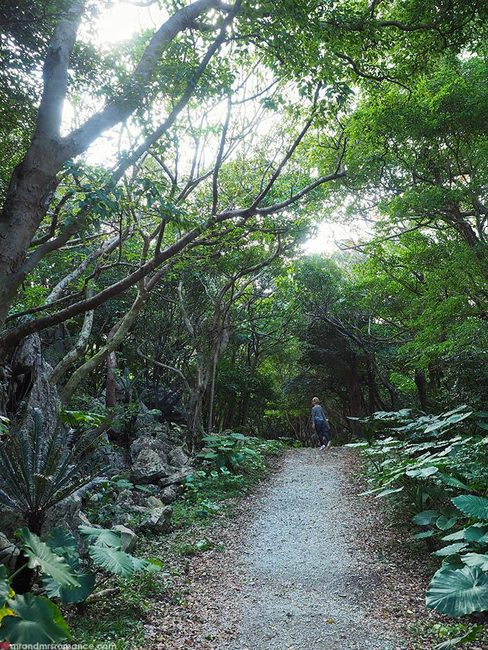 Mr and Mrs Romance - Postcards from Okinawa Japan - Dai Sekirinzan