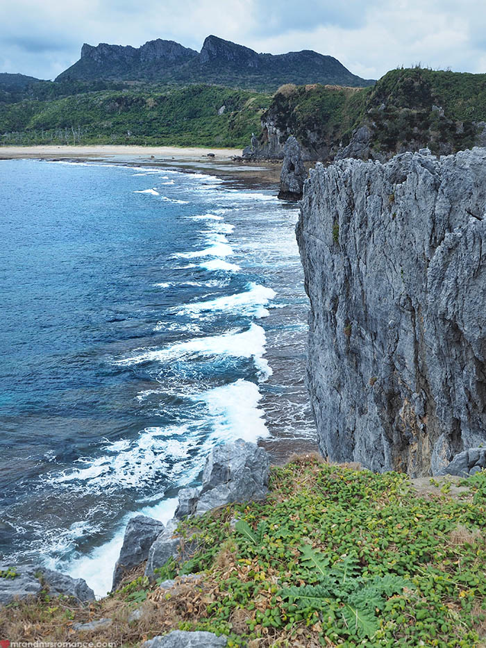 Mr and Mrs Romance - Postcards from Okinawa Japan - Cape Hedo