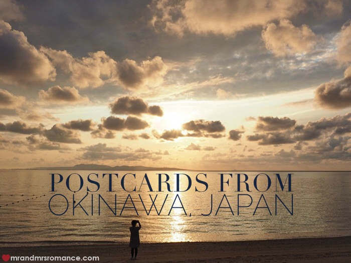 Mr and Mrs Romance - Postcards from Okinawa Japan - feature
