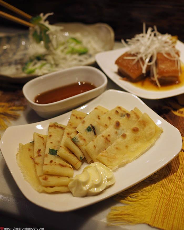 Mr and Mrs Romance - what to eat in Okinawa - hirayachi pancakes