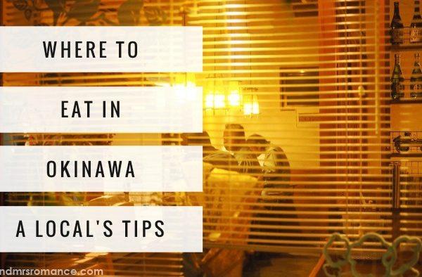 Mr & Mrs Romance - where locals eat in Okinawa