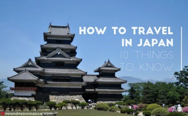 Travel tips for Japan - Mr & Mrs Romance