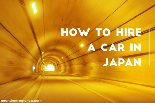 How to hire a car in Japan