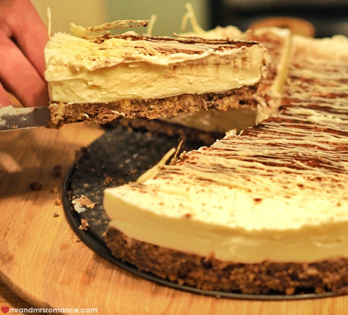 Tim Tam cheesecake recipe - Mr & Mrs Romance