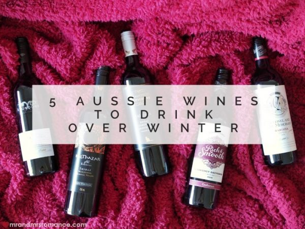 Aussie winter reds - Australian wine from South Australia