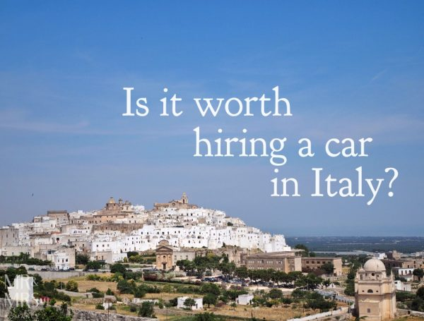 Is it worth hiring a car in Italy? Mr & Mrs Romance