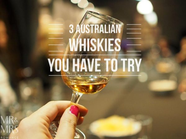 Australian whiskies - Mr & Mrs Romance