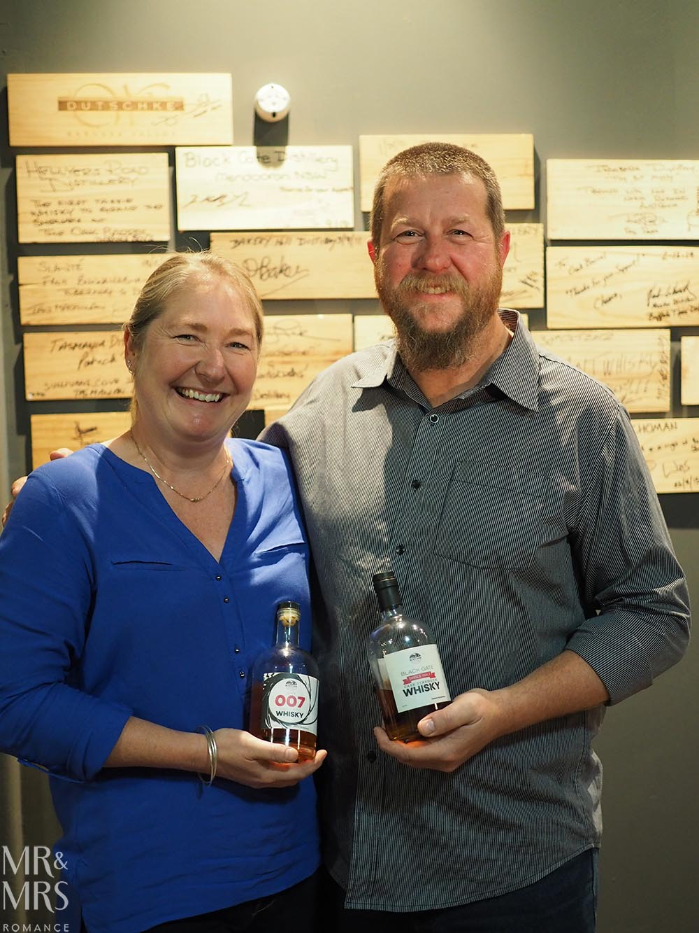 Australian whiskies - Black Gate - Mr & Mrs Romance