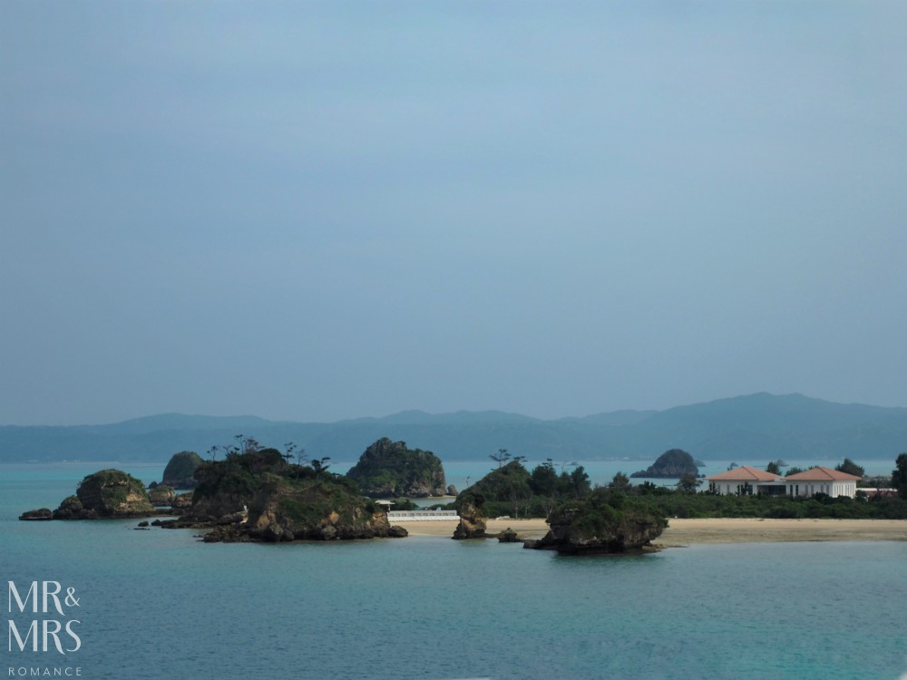 Power Spots, Okinawa, Japan - Mr & Mrs Romance - town on water