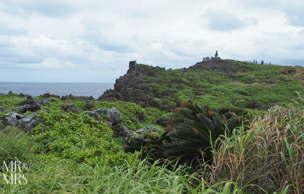 Power Spots, Okinawa, Japan - Mr & Mrs Romance - Cape Hedo monument