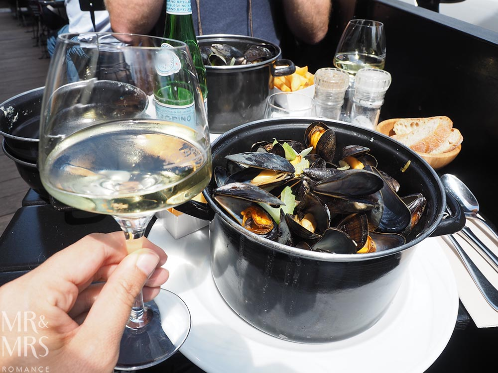 Brussels in 24 hours Moules Frites - travel guide - MMR
