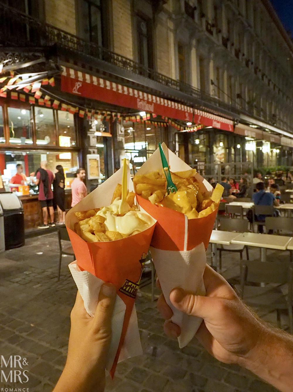 Brussels in 24 hours frites - travel guide - MMR