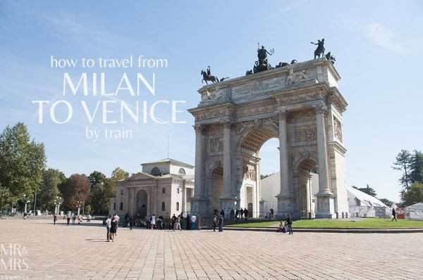 Milan to Venice by train - travel in Italy - MMR