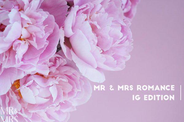 Perfect pink peony season - Mr & Mrs Romance