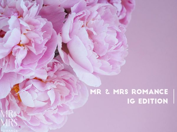 Perfect pink peony season - Mr & Mrs Romance