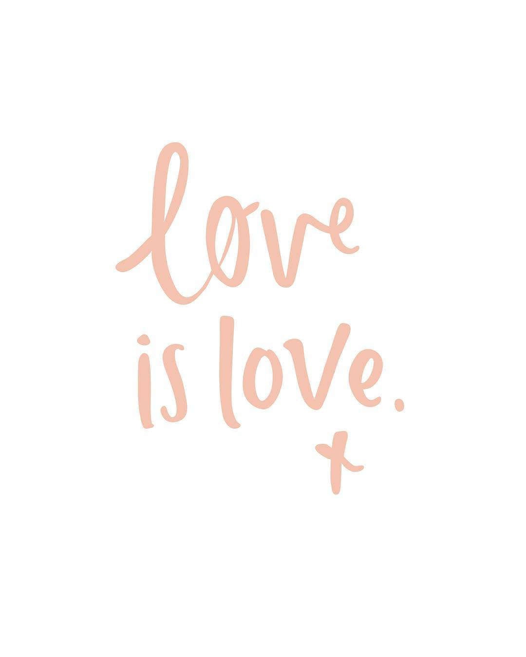 Love is love - Emma Kate Co