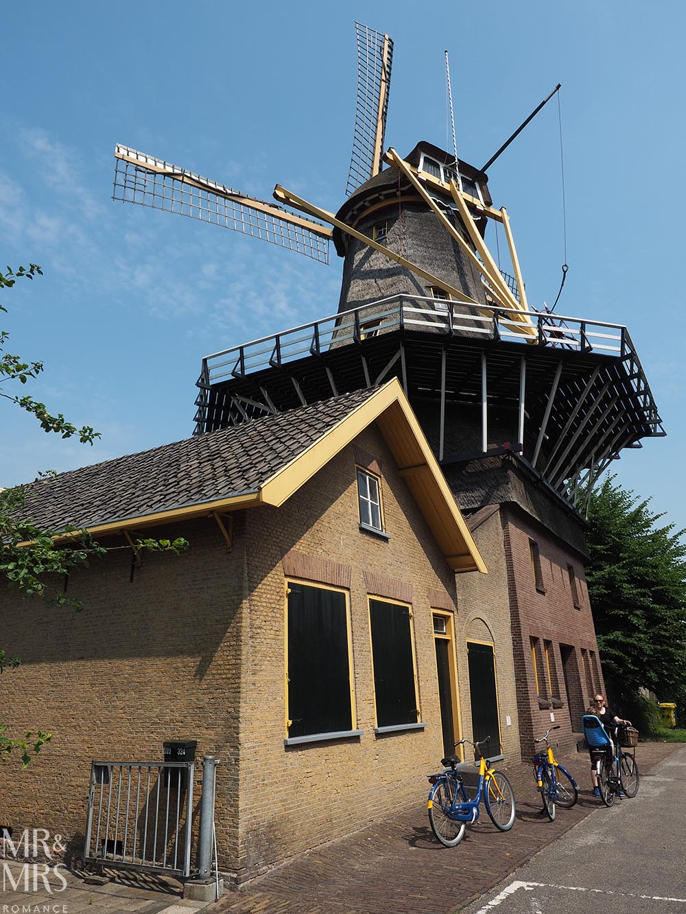Visit Rotterdam travel guide - MMR - windmill