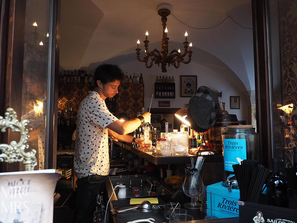 Where to drink in Lecce, Puglia, Italy - Saloon Keeper 1933 cocktail bar - MMR