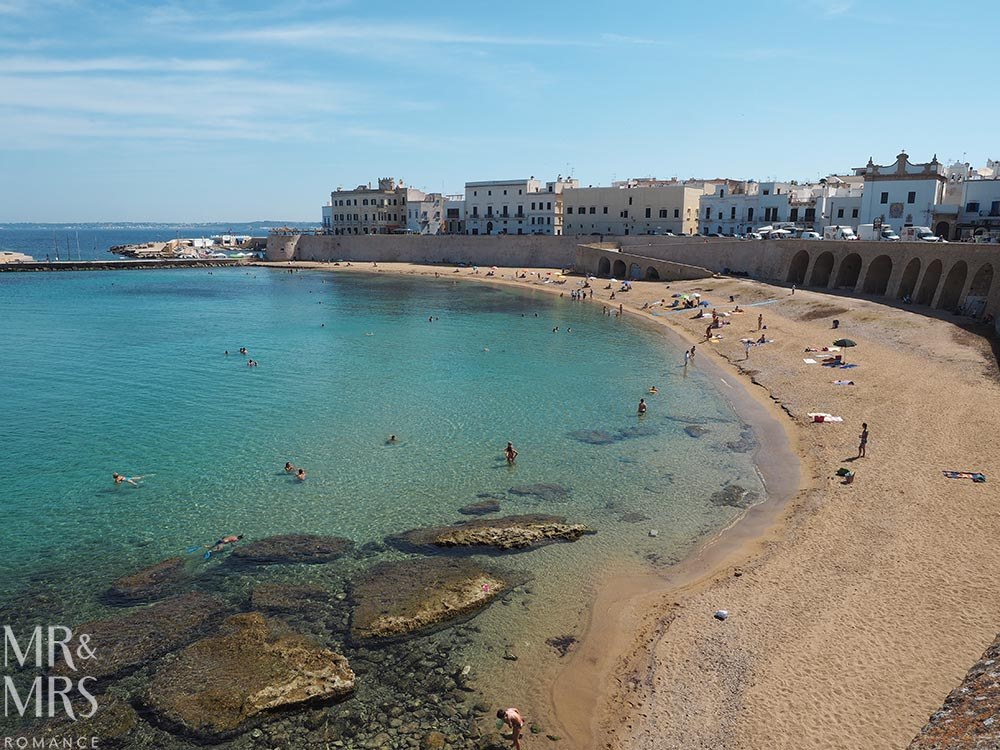 Gallipoli beach - Where to take the best photos in Puglia Italy - MMR