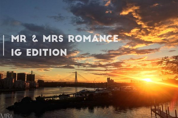 Mr & Mrs Romance - IG Edition 01 - Sydney Sunset