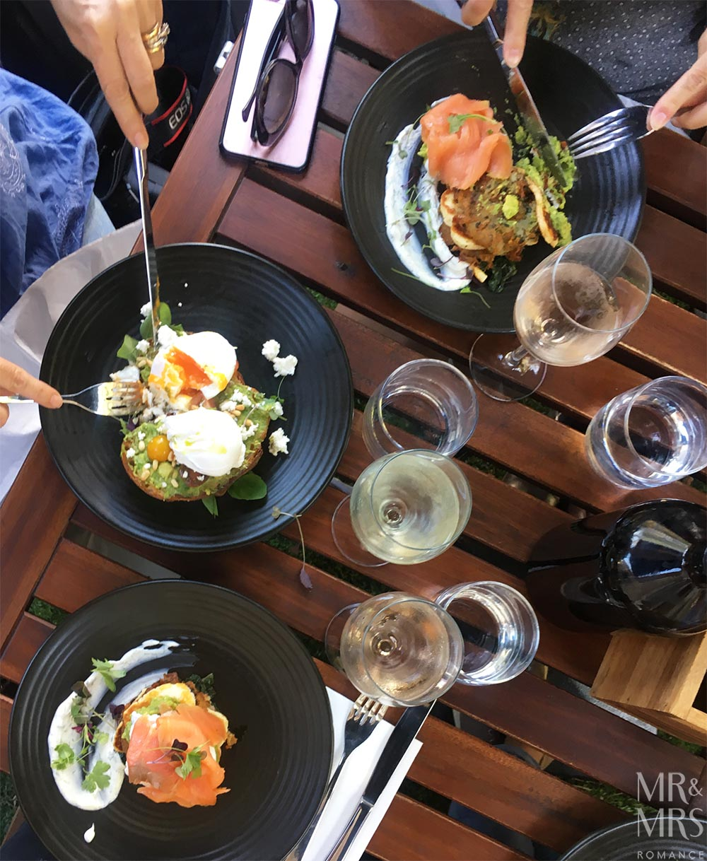 Brunch at North Spoon Cafe Sydney