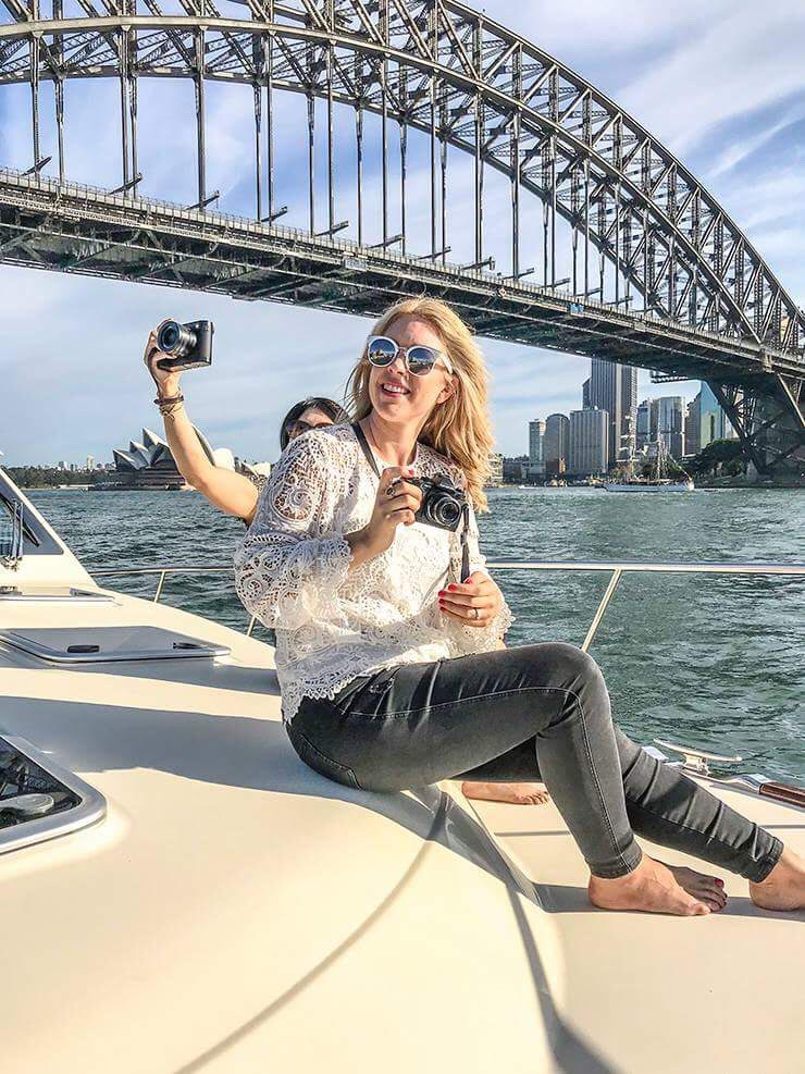 Boating on Sydney Harbour