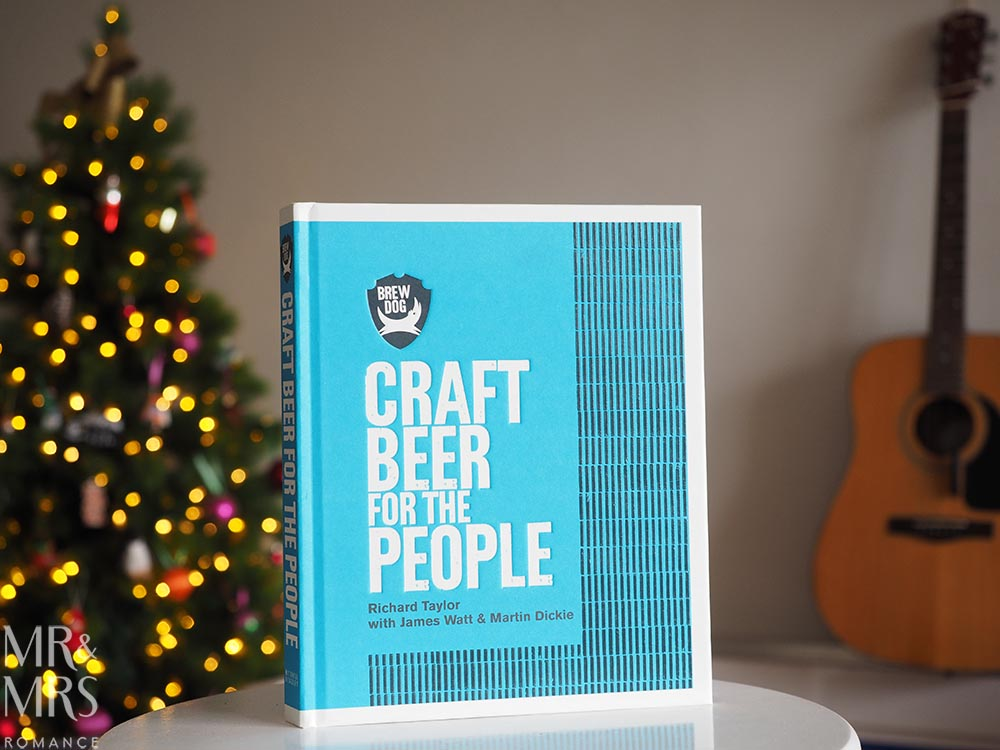 Holiday book guide for guys - books for men - Brewdog beer