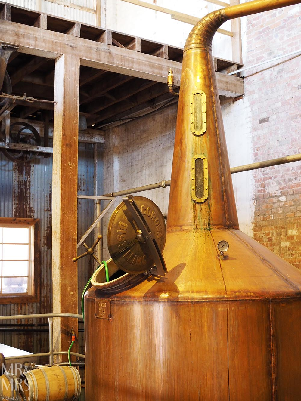 Australian whisky copper still - Corowa Distillery NSW - MMR