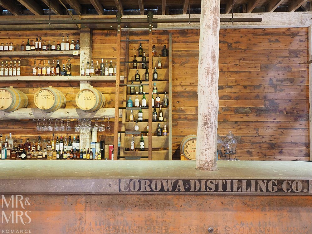 Australian whisky bar - Corowa Distillery NSW - MMR