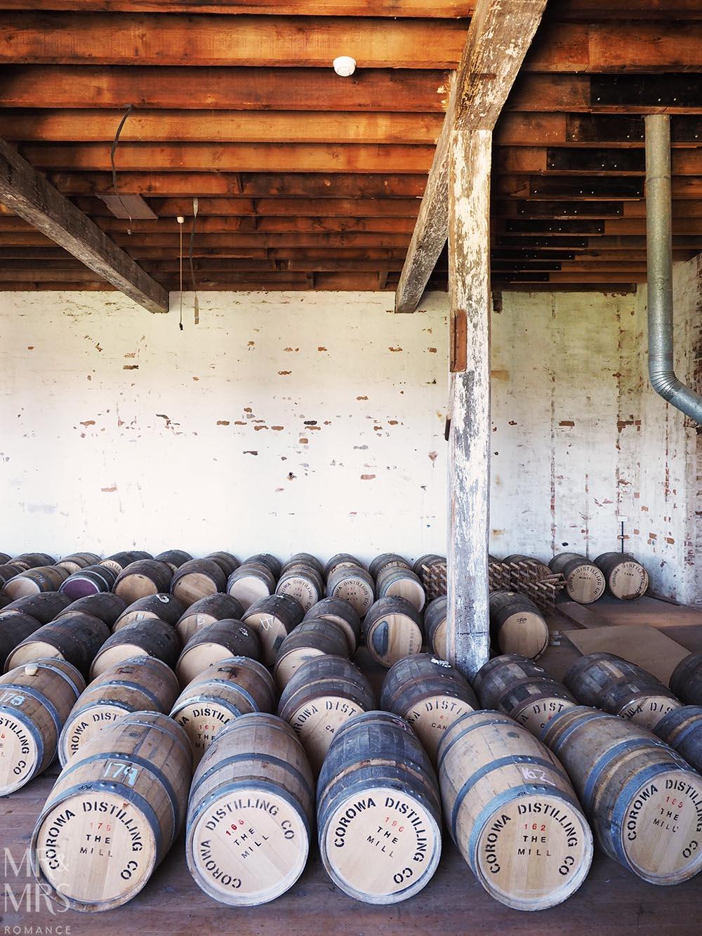 Australian whisky casks - Corowa Distillery NSW - MMR