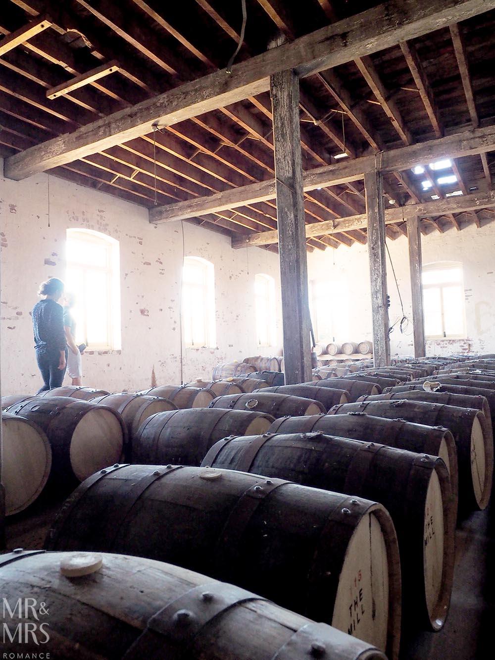 Australian whisky cask storage - Corowa Distillery NSW - MMR
