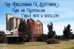 An Englishman, a Scotsman and an Australian walk into a distillery…