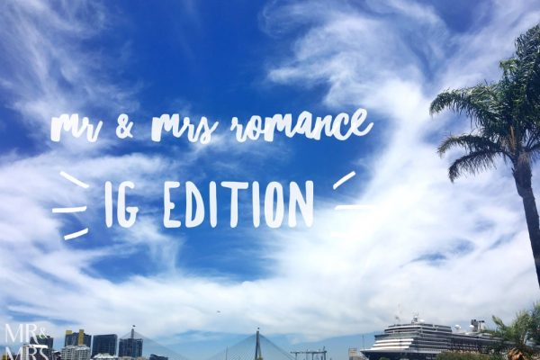 Mr and Mrs Romance