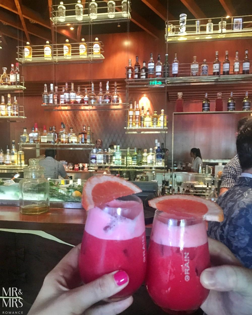 Grain Bar gin cocktail - Four Seasons Sydney