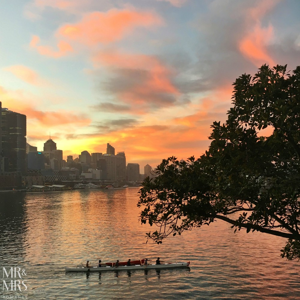 Sydney sunrise rowers