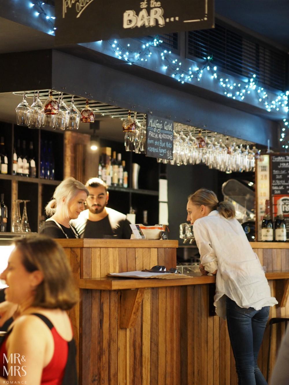 Sydney wine bar Timbah