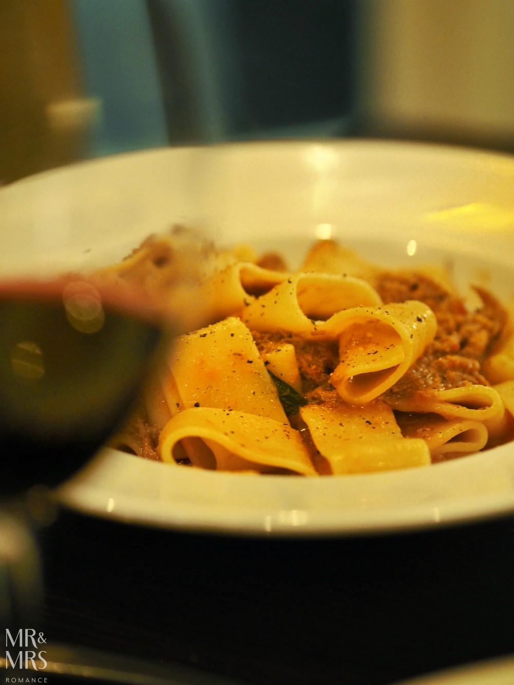 Sydney Italian restaurant Glebe -Tinello pasta