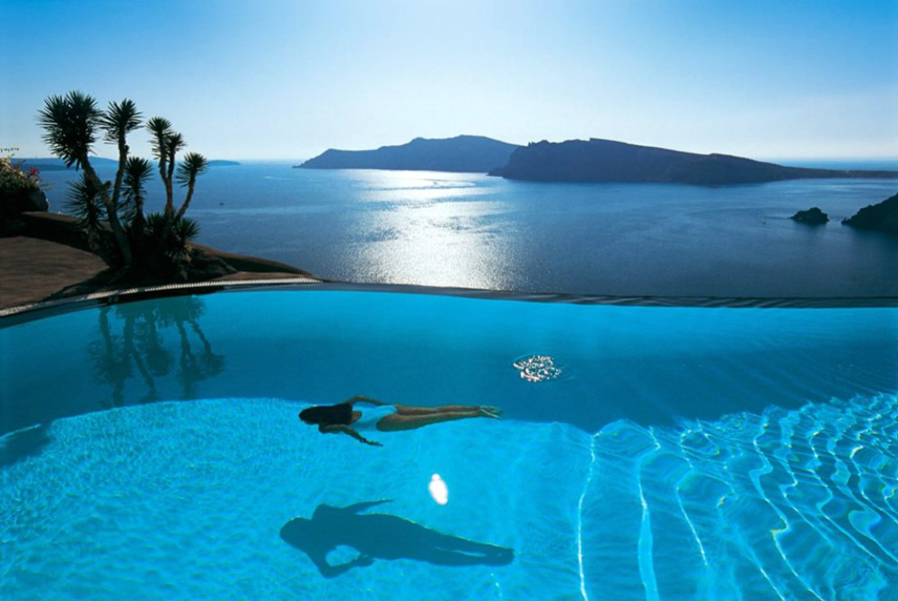 Bucket list hotel pools - Perivolas, Greece