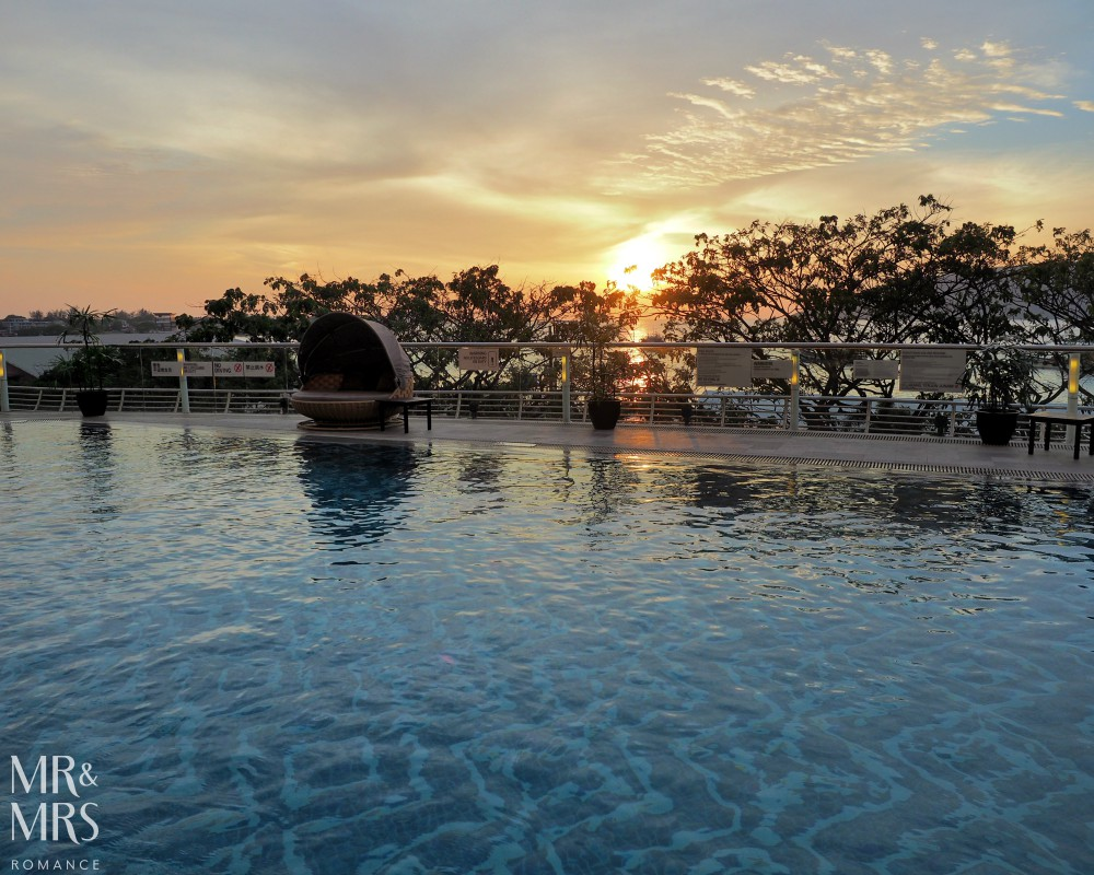 Bucket list hotel pools - LeMeridien Kota Kinabalu, Borneo
