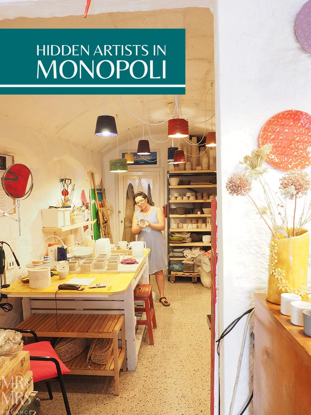 Italian art in Monopoli, Puglia - Mr & Mrs Romance